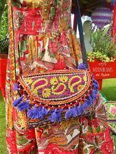 Sorprendente NUOVO Indiano Bohemien Pochette Borsetta Hippie TAPESTRY EVENING BAG DRESS