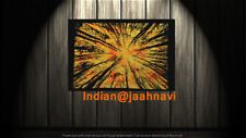 """Indian Cotton Poster 30X40"""" Inches Tapestry Wall Hanging Forest Tree Home Decor"""