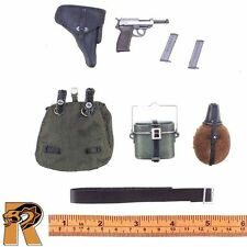 Josef Paulus - Belt Set w/ Pistol & Gear - 1/6 Scale - Dragon Action Figures