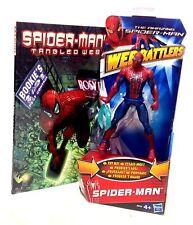 "MARVEL Comics Spiderman 6 ""toy action figure & Graphic Novel Book Set Regalo"