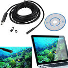 1M-15M Android 6LED 7mm Lens Endoscope Waterproof Inspection Borescope Camera SL