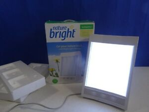 Nature Bright SunTouch Plus SAD Light Therapy 10,000 LUX Model F4040 4040 in Box