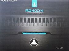 "JL AUDIO RD400/4 4-CHANNEL RD SERIES CAR SPEAKER AMPLIFIER ""BRANDNEW"""