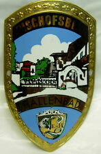 Austria Osterreich used badge stocknagel hiking medallion mount G5125