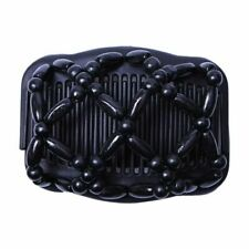 Double Beaded Hair Magic Comb Clip Beads Elasticity Hairpin Stretchy Hai L