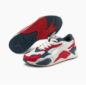 Puma Rs-X3 RWB Sneakers Red/White/Blue Men's Shoes 368718_01 RSX RSX3