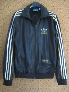 Veste Adidas à Capuche Originals Chile 62 Jacket Noire Homme style vintage - XS