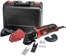 Decker-MT300KA-GB - Black & Herramienta Oscilante 300w/Accesorios/Kitbox