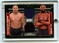 2016 UFC Knockout Dominant Duos Dual Relics 66/88 Jon Jones & Georges St-Pierre