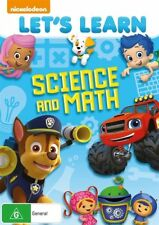 Nickelodeon : Let's Learn - Science And Math : NEW DVD