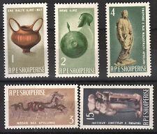 1965  Albania. Albanian  Stamps. Arkeology. MNH.