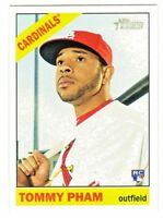 2015 Topps Heritage High Number 567 TOMMY PHAM RC Rookie Cardinals QTY Available