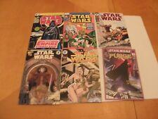 6 Star Wars Marvel Dark Horse Comic Book Cover Postcards Chronicle Books 2009 NM