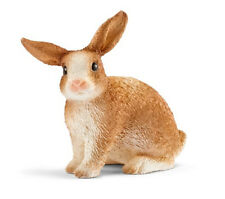 Schleich 13827 Rabbit Sitting Animal Model Toy Bunny Figurine 2017 - NIP