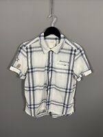 DIESEL Short Sleeve Shirt - Small - Check - Great Condition - Men's