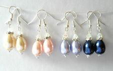 Crystal Mixed Metals Beaded Costume Earrings