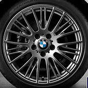 "BMW OEM F20 F21 F22 F23 1 & 2 Series BMW 18"" LA Wheel Radial Spoke 388 Set of 4"