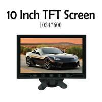 "10.1"" HD CCTV LCD Monitor PC Screen AV/RCA/VGA/BNC Video Display w/ Speaker"