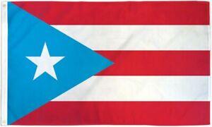"""PUERTO RICO LIGHT BLUE"" flag 3x5 ft poly banner"