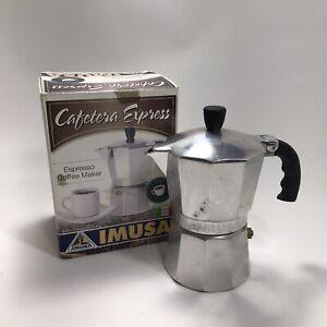 IMUSA Cafetera Express Maker Stove Top
