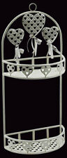 Heart Design Wall Rack M5359 Size W28cm x D15cm x H 63cm for Any Bathroom NEW
