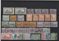 TUNISIA 1919 - 1922 POST AERIENNE  AIR ISSUES MOUNTED MINT AND USED  REF R1143