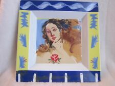 """Rosenthal ART COLLECTION # 2, 11.75"""" Square Tray, GIOVANOPOULOS; New"""