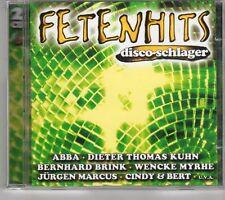 (GK699) Fetenhits, Disco-Schlager, 2CDs - 2001