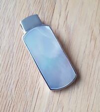 Large Mother Of Pearl Pendant set in 925 silver
