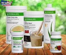 NEW HERBALIFE FORMULA 1 SHAKE,PROTEIN DRINK,PROBIOTIC,TEA, ALOE FREE SHIPPING