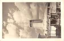 Poznan Poland Radio Tower Real Photo Antique Postcard K70408