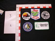 hunting, fishing, camping, hiking, vintage collector patch set