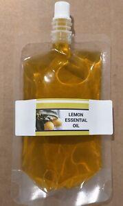 100% Pure Lemon Essential Oil, 10ml, 30ml, 50ml, 100ml, 200ml (10ML FREE OIL)