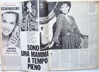 CLAUDIA CARDINALE => COUPURE DE PRESSE italienne 2 pages 1980 / ITALIAN CLIPPING