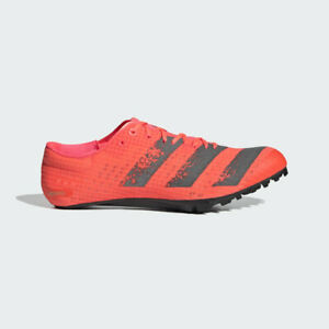 NWT ADIDAS ADIZERO FINESSE Track and Field Spikes Pink EG6173 Men's Size 10 US
