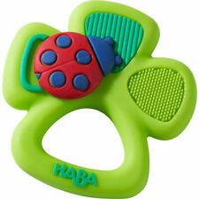 Haba® Greifling Baby Greifring Spielzeug Glücksklee Silikon Zahnen ab 6 Monate ?