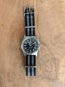 CWC G10 Military watch - 0552 - Royal Navy issued 1989 - In great Condition
