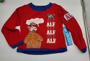 1987 Vintage Sears Alf Sweatshirt Youth Size 7 Large NWT
