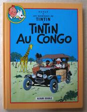 Tintin au Congo & En Amérique HERGE éd France Loisirs