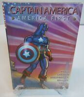 Captain America: America First Marvel Comics HC Brand Hard Cover New Sealed