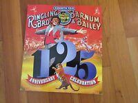 125th anniversary Ringling Bros Barnum & Bailey circus magazine program photos
