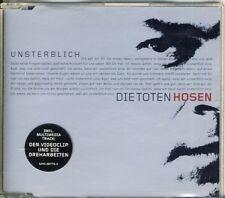 DIE TOTEN HOSEN - unsterblich 4 trk MAXI CD 2000  VIDEO