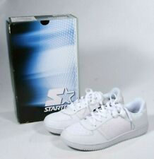 New Vintage Starter White Leather Mens Athletic Eli Low Top Sneakers Size 10 1/2