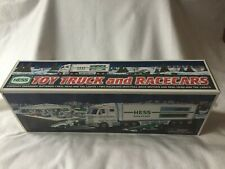 HESS 2003 Toy Truck and Racecars in original box