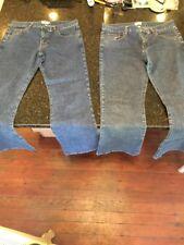 2 VTG Calvin Klein Women Jeans Size 7 Nice Bootcut