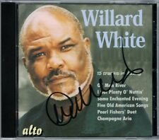 Sir Willard WHITE Signiert IN CONCERT Copland 5 Old American Songs Carl Davis CD
