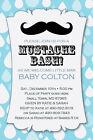 LITTLE MAN MUSTACHE Bash Printable 1st Birthday Party Baby Shower Invitation DIY