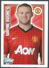 TOPPS 2012/13 PREMIER LEAGUE #130-MANCHESTER UNITED-WAYNE ROONEY