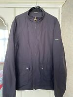 BNWT Barbour International Farleigh Lightweight Casual Jacket Dark Indigo L £160