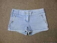 River Island Denim Mid Rise Regular Size Shorts for Women